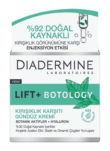 Diadermine Diadermine Botology Kırışıklık Karşıtı Bakım Seti+Çanta Hediye Renksiz